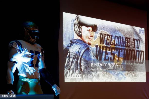 A general view during the Introduction of Chip Kelly Press Conference on November 27 2017 in Westwood California Kelly was just announced as the new...