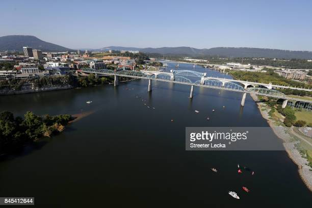 A general view during the IRONMAN 703 Men's World Championship on September 10 2017 in Chattanooga Tennessee