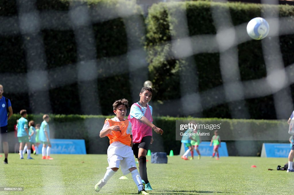 General view during the Italian Football Federation during 9th Grassroots Festival at Coverciano on June 17, 2017 in Florence, Italy.