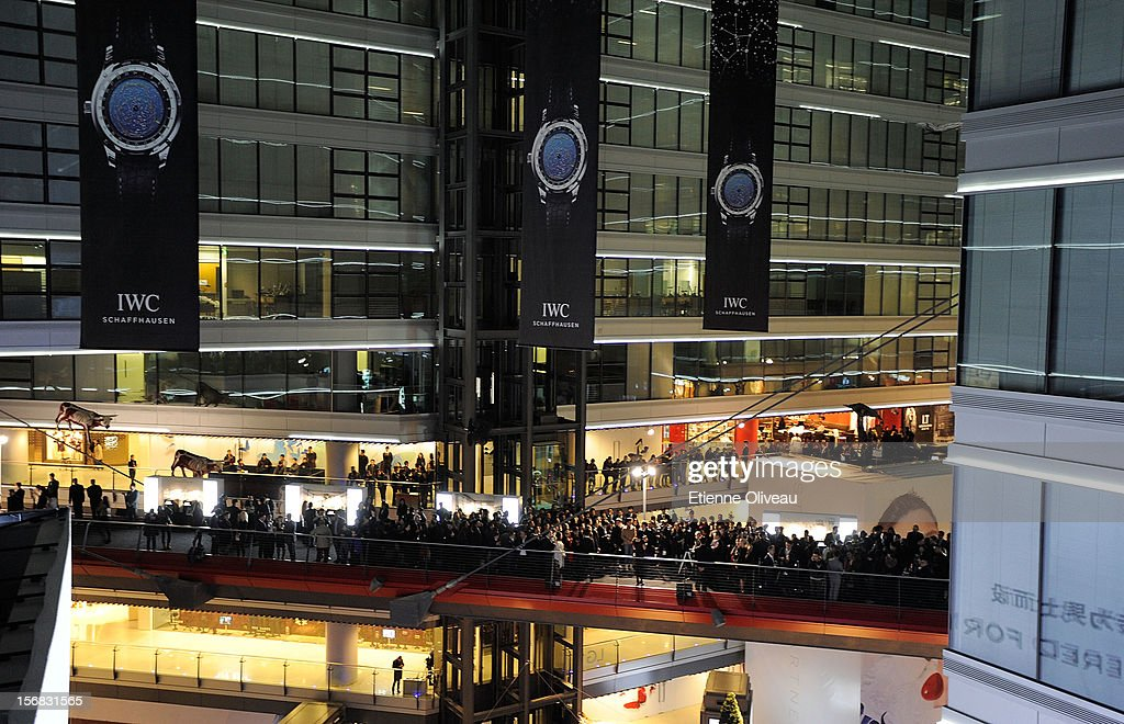 General view during the IWC Flagship Boutique Opening on November 22, 2012 in Beijing, China.