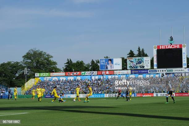 A general view during the JLeague J1 match between Kashiwa Reysol and Kawasaki Frontale at Sankyo Frontier Kashiwa Stadium on May 12 2018 in Kashiwa...