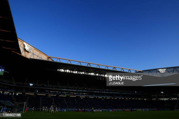 General view during the J.League Meiji Yasuda J1 match between Gamba Osaka and Vegalta Sendai at Panasonic Stadium Suita on November 14, 2020 in...
