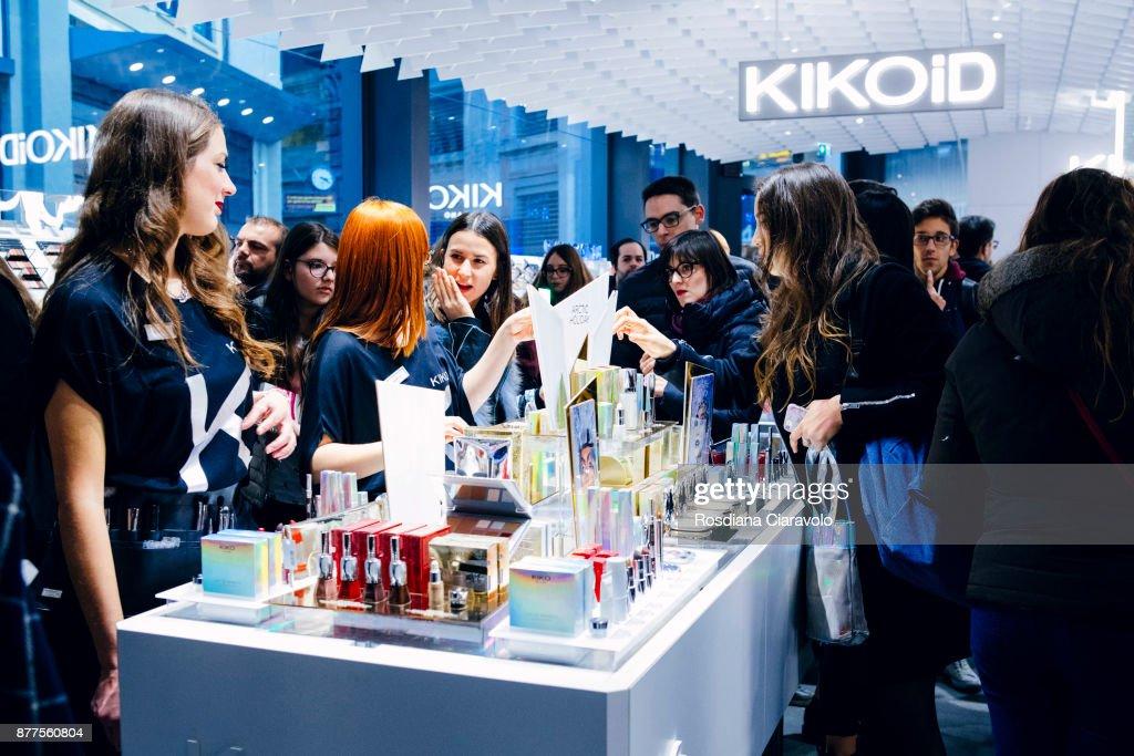 KikoID Store Opening In Milan : ニュース写真