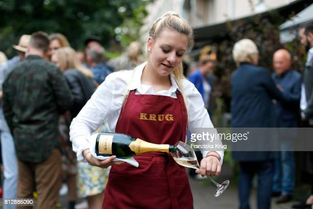 General view during the 'Krug Kiosk' Event on July 11 2017 in Hamburg Germany