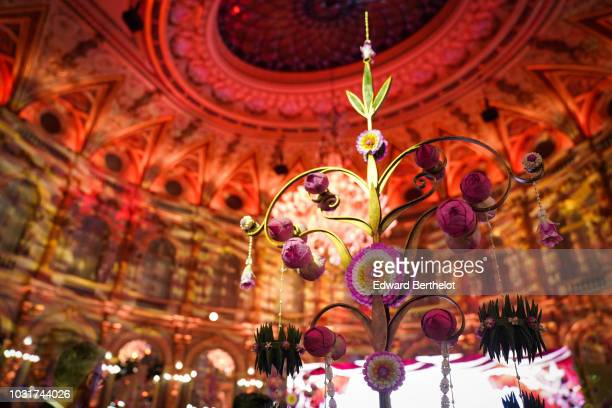 General view during the 'L'Art Et L'Ame De La Thailande' Gala Dinner In Paris at the hotel InterContinental Paris Le Grand on September 11 2018 in...