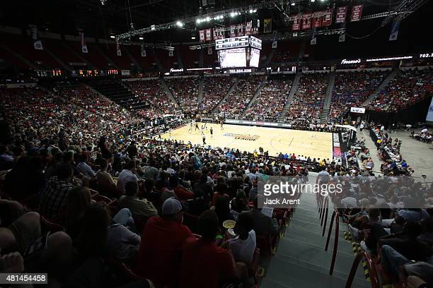 A general view during the Las Vegas Summer League Championship between the Phoenix Suns and San Antonio Spurs on July 20 2015 at the Thomas Mack...