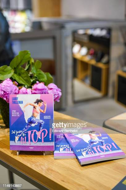 General view during the launch event for Laury Thilleman's book 30 jours pour être au TOP at La Salle de Sport at Madeleine on May 14 2019 in the 9th...