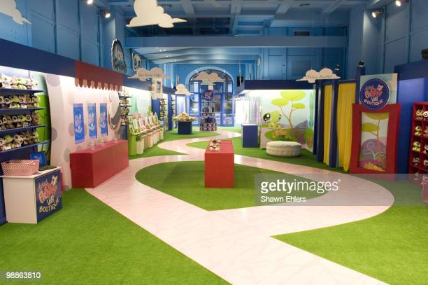 General view during the launch of Hasbro�s Littlest Pet Shop 'popup' retail store to debut Littlest Pet Shop Virtual Interactive Pets October 20 2007...