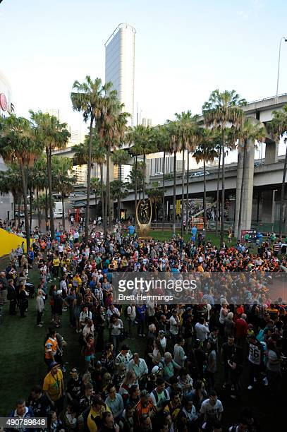 A general view during the launch of NRL Nation at Darling Harbour on October 1 2015 in Sydney Australia