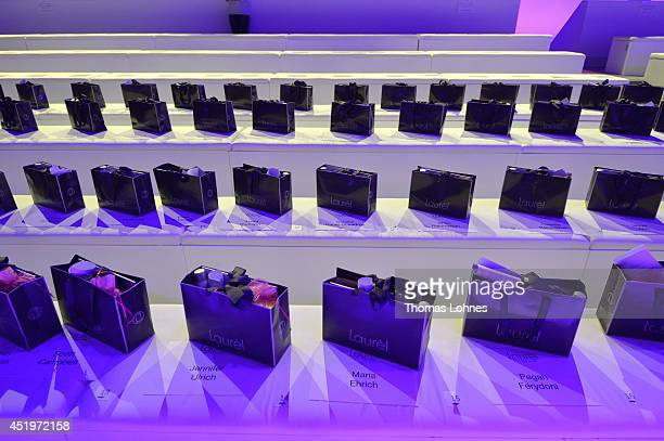 A general view during the Laurel show during the MercedesBenz Fashion Week Spring/Summer 2015 at Erika Hess Eisstadion on July 10 2014 in Berlin...