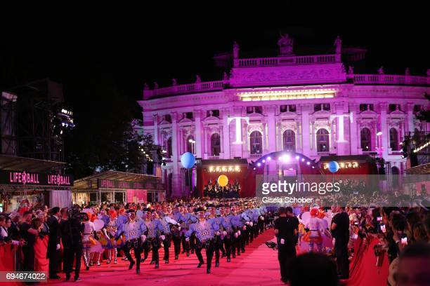A general view during the Life Ball 2017 show at City Hall on June 10 2017 in Vienna Austria