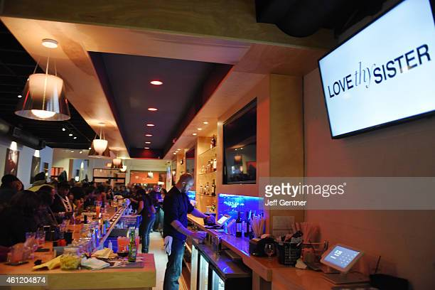 General view during the Love Thy Sister We tv premiere party at Bar One on January 8 2015 in Charlotte North Carolina