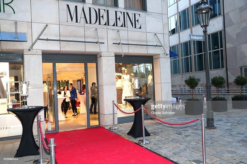 MADELEINE Store Opening In Nuremberg : News Photo