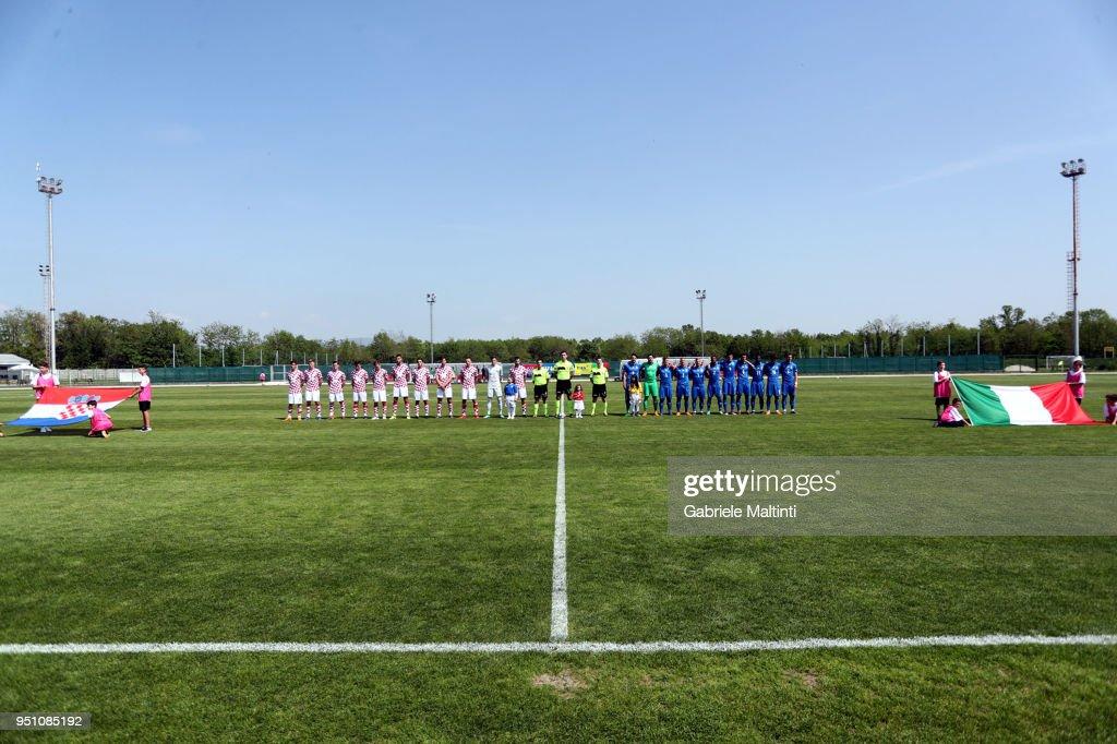 Italy 20 v Croatia U20
