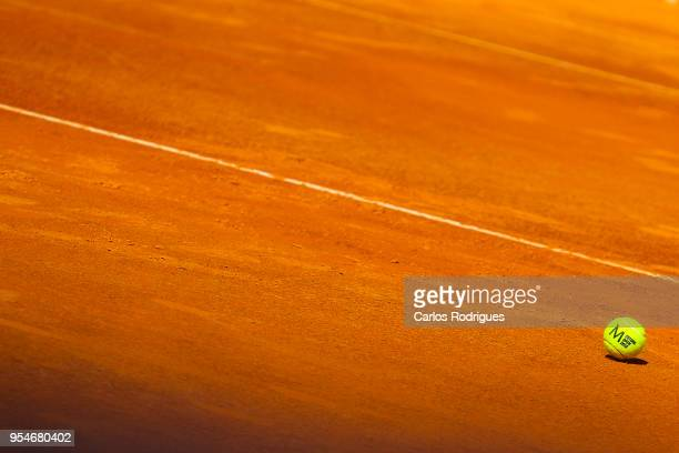 General view during the match between Kyle Edmund from Great Britain and Joao Sousa from Portugal for Millennium Estoril Open 2018 at Clube de Tenis...