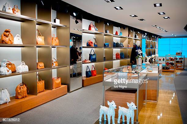 A general view during the MCM x Dina Casparis store event on September 15 2016 in Zurich Switzerland
