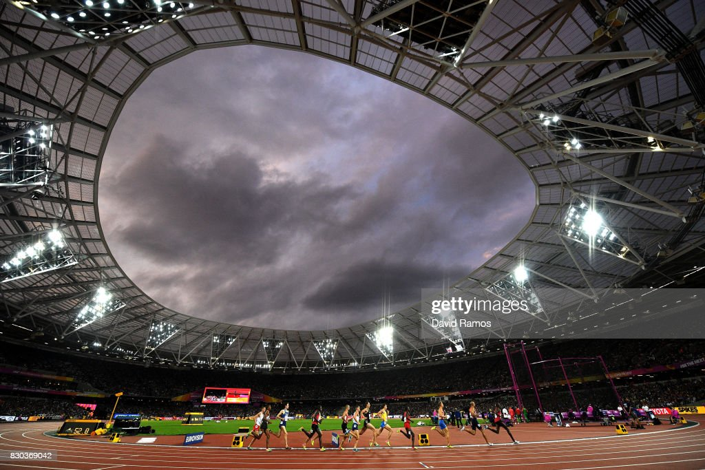 A general view during the Men's 1500 metres semi finals on day eight of the 16th IAAF World Athletics Championships London 2017 at The London Stadium on August 11, 2017 in London, United Kingdom.
