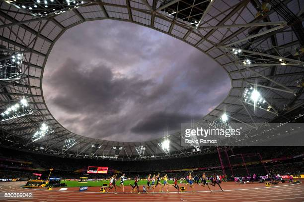 A general view during the Men's 1500 metres semi finals on day eight of the 16th IAAF World Athletics Championships London 2017 at The London Stadium...