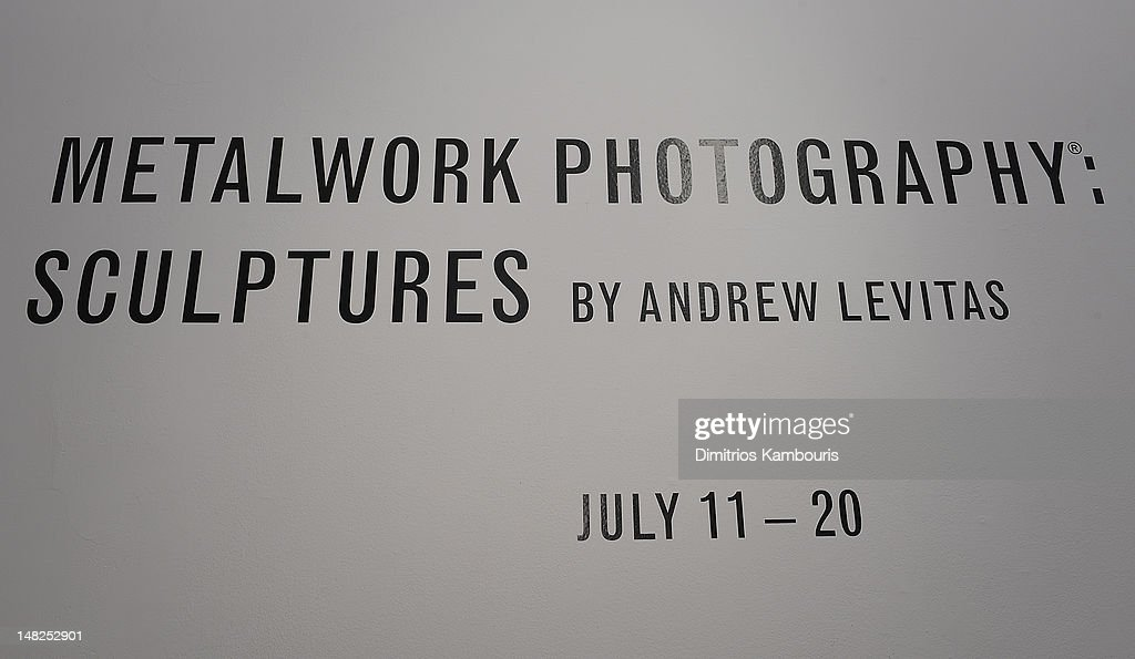'Metal Works Photography: Sculptures' By Andrew Levitas Exhibition : News Photo