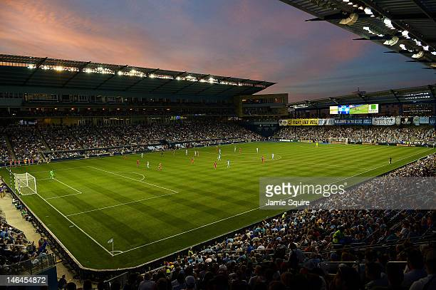 A general view during the MLS game between Sporting KC and Toronto FC on June 16 2012 at Livestrong Sporting Park in Kansas City Kansas