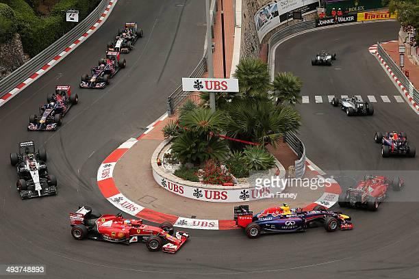 General view during the Monaco Formula One Grand Prix at Circuit de Monaco on May 25, 2014 in Monte-Carlo, Monaco.