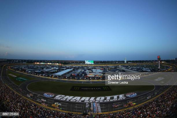General view during the Monster Energy NASCAR All Star Race at Charlotte Motor Speedway on May 20 2017 in Charlotte North Carolina