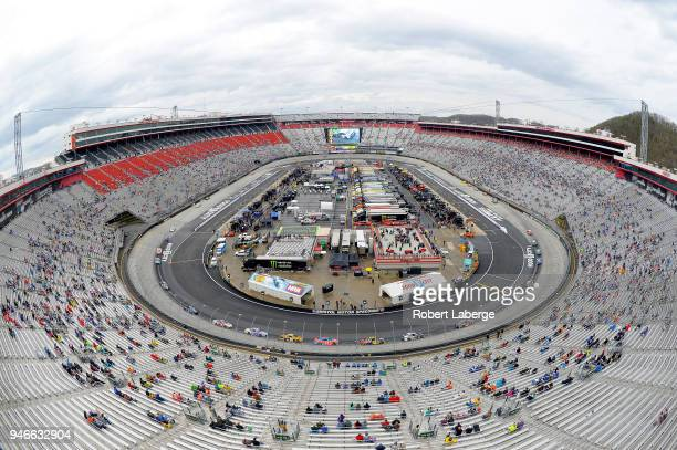 General view during the Monster Energy NASCAR Cup Series Food City 500 at Bristol Motor Speedway on April 15 2018 in Bristol Tennessee