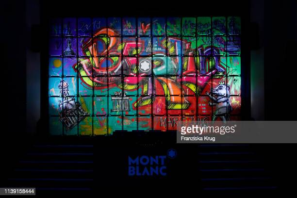 """General view during the Montblanc launch event """"Reconnect To The World"""" at Metropol Theater on April 24, 2019 in Berlin, Germany."""