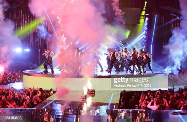 A general view during the MTV EMAs 2018 at Bilbao Exhibition Centre on November 4 2018 in Bilbao Spain