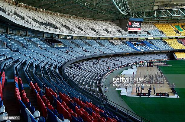 A general view during the NAB AFL Draft Combine at Etihad Stadium on October 08 2016 in Melbourne Australia