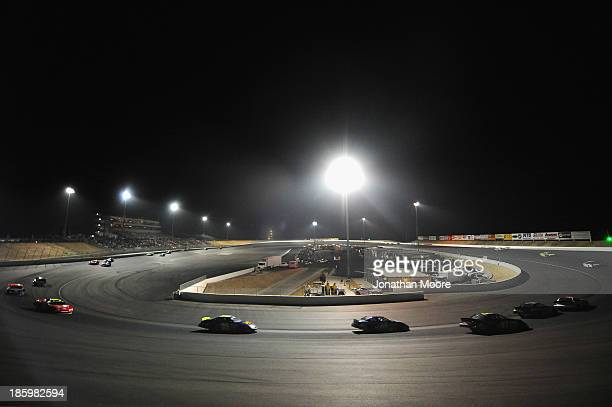 A general view during the NAPA Auto Parts 150 at Kern County Raceway Park on October 26 2013 in Bakersfield California