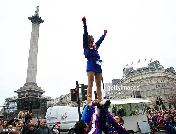 A general view during the New Years Day Parade on January 1 2015 in London England