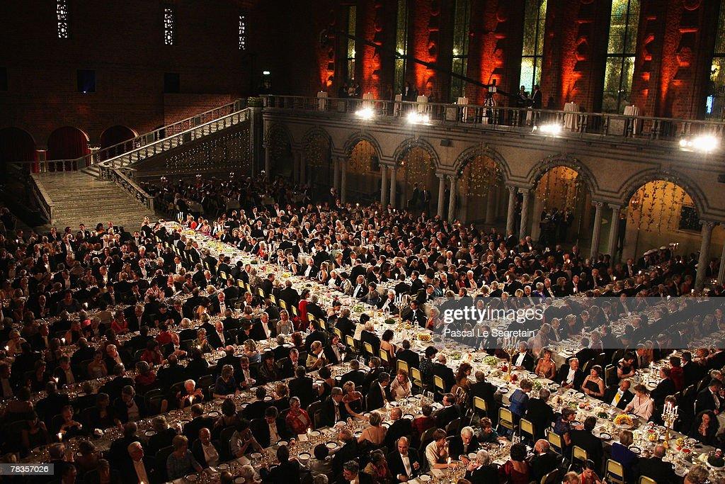Nobel Foundation Prize 2007 - Gala Dinner : ニュース写真