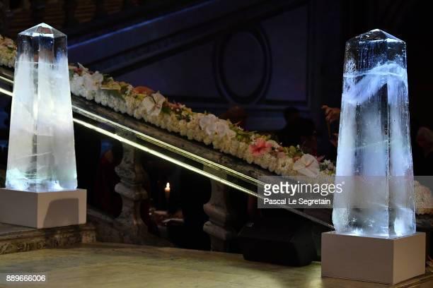 General view during the Nobel Prize Banquet 2017 at City Hall on December 10 2017 in Stockholm Sweden