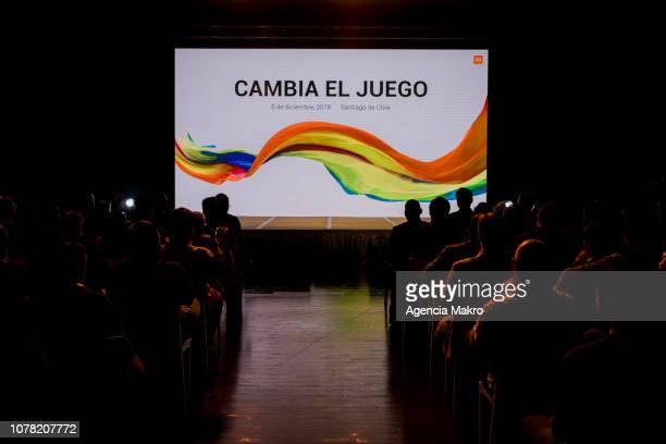 A general view during the official launch of the Chinese brand Xiaomi on December 05 2018 in Santiago Chile