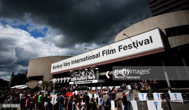 General view during the opening ceremony of the 52st Karlovy Vary International Film Festival on June 30, 2017 in Karlovy Vary, Czech Republic.