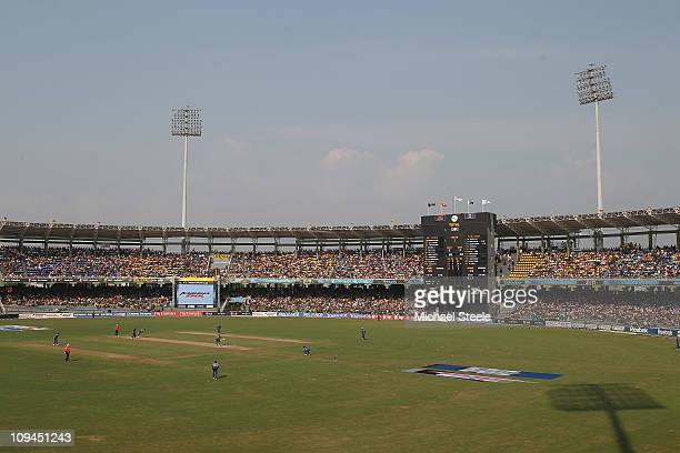 General view during the Pakistan v Sri Lanka 2011 ICC World Cup Group A match at the R Premadasa Stadium on February 26 2011 in Colombo Sri Lanka