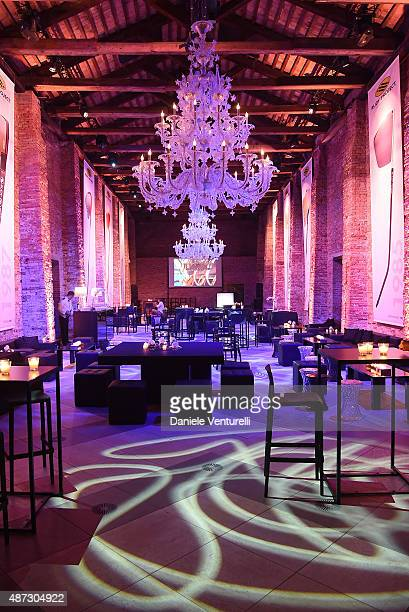 General view during the party for 'Rudy Project' 30th Anniversary Party during the 72nd Venice Film Festival at Granai dell'Hotel Cipriani on...