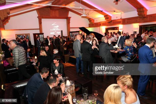A general view during the piano night hosted by Wempe and Glashuette Original at Gruenwalder Einkehr on April 25 2017 in Munich Germany