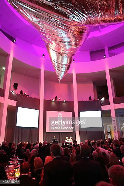 A general view during the PIN Party 4 Art at Pinakothek der Moderne on November 21 2015 in Munich Germany