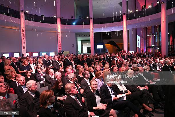 A general view during the PIN Party Let's party 4 art' at Pinakothek der Moderne on November 26 2016 in Munich Germany