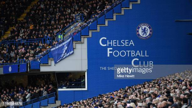 General view during the Premier League match between Chelsea FC and Crystal Palace at Stamford Bridge on November 09 2019 in London United Kingdom