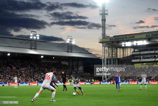 A general view during the Premier League match between Crystal Palace and Liverpool FC at Selhurst Park on August 20 2018 in London United Kingdom