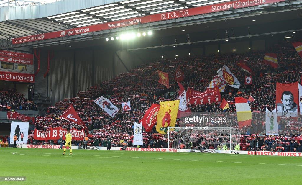 Liverpool FC v AFC Bournemouth - Premier League : Foto di attualità