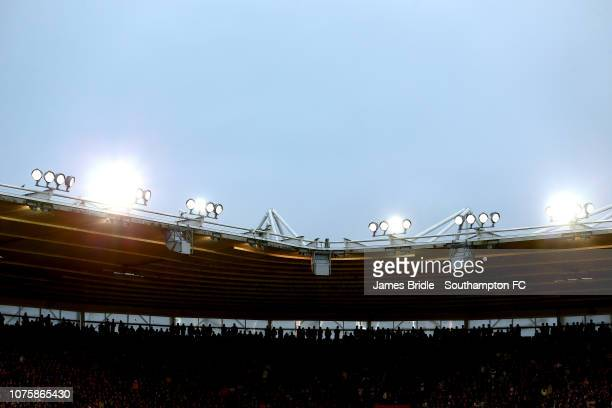 General view during the Premier League match between Southampton FC and Manchester City at St Mary's Stadium on December 30 2018 in Southampton...