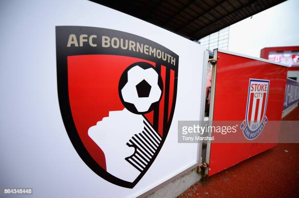 A general view during the Premier League match between Stoke City and AFC Bournemouth at Bet365 Stadium on October 21 2017 in Stoke on Trent England