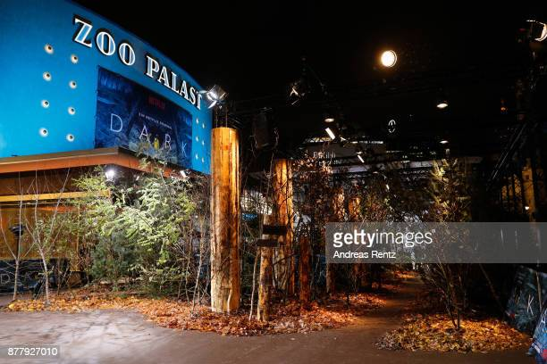 General view during the premiere of the first German Netflix series 'Dark' at Zoo Palast on November 20 2017 in Berlin Germany