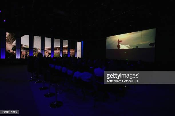 General view during the premiere of 'The Lane' documentary film at BT Sport Studios on November 30 2017 in Stratford England