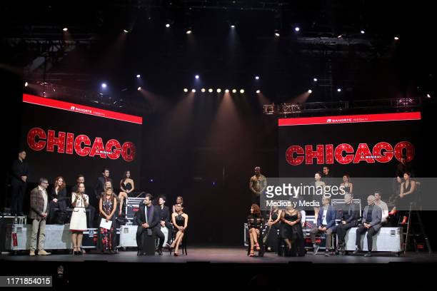 General view during the press conference to present the cast of 'Chicago The Musical' at Telcel Theatre on September 2 2019 in Mexico City Mexico