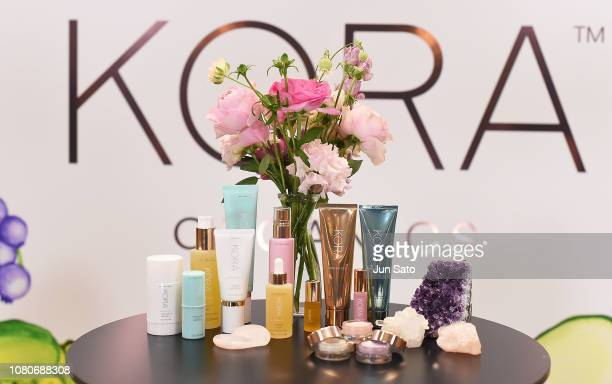 A general view during the press event for 'KORA Organics' on January 11 2019 in Tokyo Japan